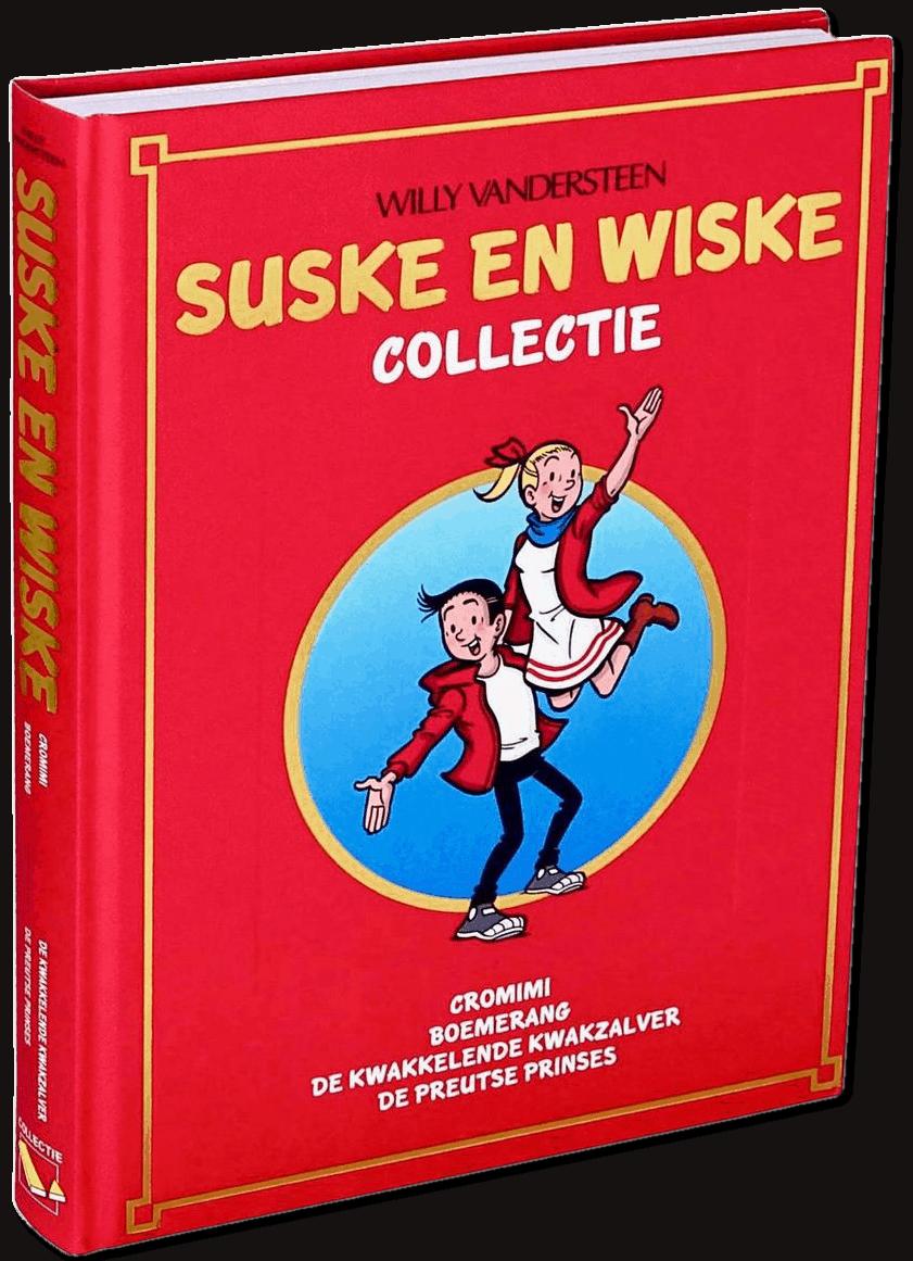Suske & Wiske Verzamelalbum 4 complete albums, ingebonden in luxe band met harde kaft en goudopdruk